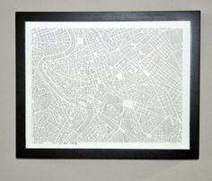 """Map you city and paint it by """"numbers"""""""