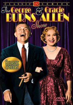 George Burns  Gracie Allen Show  -  (1950-1958)  -  starred  Harry von Zell (Announcer)...Bea Benaderet (the Burns' neighbor, Blanche Morton)...Larry Keating & Fred Clark  (Blanche's husband, Harry Morton)...Ronnie Burns (George & Gracie's son as himself)...Rolfe Sedan (Mr. Beasley)...