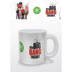 Mug Blanc Logo The Big Bang Theory