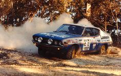 Watson/Godden, Datsun 710 SSS, heading to a 3rd place finish during the 1977 Southern Cross International Rally, Port Macquarie, Sydney