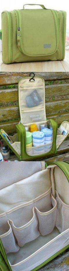Travel Toiletry Bag Organizer! Click The Image To Buy It Now or Tag Someone You Want To Buy This For. #GreenBag