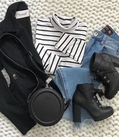 Teenager Outfits, Outfits For Teens, Trendy Outfits, Cute Outfits, Fall Winter Outfits, Winter Fashion, Fashion Shoes, Fashion Outfits, Womens Fashion