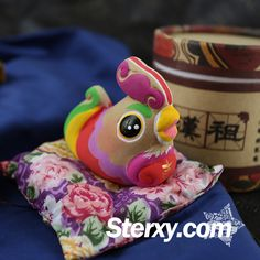 Sterxy Clay Animal Figurine Chinese Zodiac Clay Handmade Colorful Ornaments Traditional Home Decor Gift, Rabbit Chinese Zodiac, Clay Animals, Handmade Ornaments, Traditional House, Decor Crafts, Handicraft, Rooster, How To Draw Hands, Room Decor