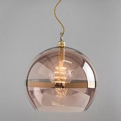 Buy Ebb & Flow Striped Rowan Pendant, Copper from our Ceiling Lighting range at John Lewis. Modern Shade, Ceiling Lights, Bedroom Lighting, Lighting Store, Kitchen Pendant Lighting, Copper Lighting, Glass Pendants, Copper Lamps, Bedroom Ceiling Light