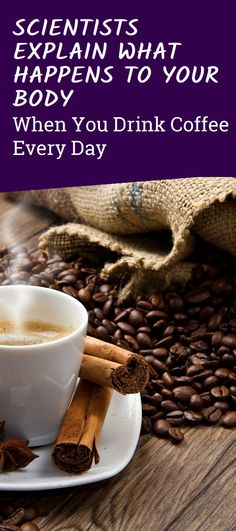 Scientists Explain What Happens To Your Body When You Drink Coffee Every Day Natural Teething Remedies, Natural Cold Remedies, Health Guru, Health And Wellness, Herbal Remedies For Depression, Cinnamon Benefits, Strep Throat, Cough Remedies, Drink Coffee
