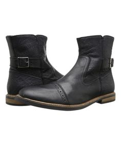 Loving this Black Levy Leather Boot on #zulily! #zulilyfinds