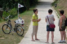 Le vélo de l'office de tourisme du Mas d'Azil