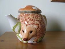 Hedgehog teapot Boots Wildlife Collection
