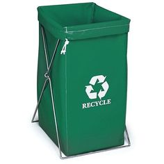 Recycle Bins For Home Heavyduty Blue Plastic Recycle Bin  Square 2015 Amazon Top Rated