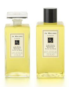Lime Basil & Mandarin Bath Oil  by Jo Malone London at Neiman Marcus.