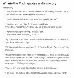 Winnie the Pooh sad quotes Sad Winnie the Pooh quotes Poem Quotes, Cute Quotes, Sad Quotes, Quotes To Live By, Best Quotes, Inspirational Quotes, Sad Disney Quotes, Change Quotes, Pretty Words