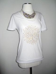 starburst safety pin shirt