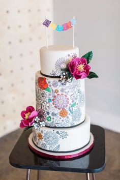 Bright and Cheerful Coloring Book Inspired Wedding Ideas http://www.weddingchicks.com/blog/bright-and-cheerful-coloring-book-inspired-wedding-ideas-l-14527-l-11.html