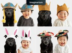 Depois de uma semana exaustiva todo mundo merece um momento fofura com fotos de cães e bebês fantasiados, concorda?  Vem se derreter com muito mais lá no blog: http://www.imaginarium.com.br/blog/inspiracao/momento-fofura-do-dia-com-fotos-de-caes-e-bebes-fantasiados/