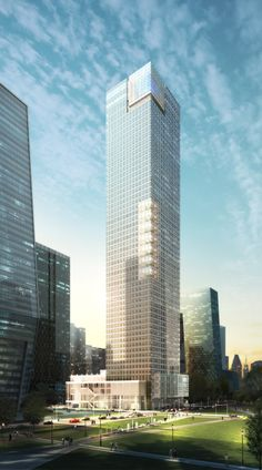 Samsung Beijing Headquarters, Beijing, China by SMDP Architects :: 57 floors, height 260m