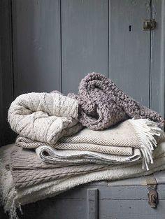 Met de winter voor de deur, heerlijke dekens .