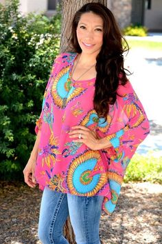 Only $16.99!   This is one top that we are extremely excited about! it is absolutely perfect for spring! It is lightweight with a nice airy free flow design Beautiful print throughout. Now available in 10 gorgeous spring colors. At this amazing low-price you want to grab one in every color!   Find it now at www.groopdealz.com