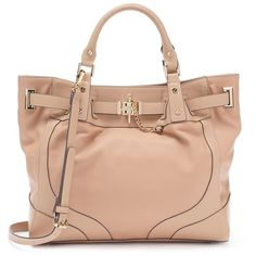 Jennifer Lopez Kayla Tote ($77) ❤ liked on Polyvore featuring bags, handbags, tote bags, brown oth, brown tote bags, vegan tote, handbags totes, purse tote and brown faux leather tote