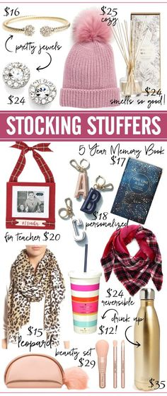 Stocking stuffers under $35 #stockingstuffer #christmsasgift #giftideas Honey We're Home