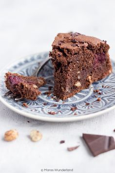 Gesunder Schokoladenkuchen