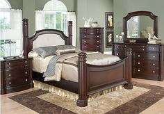 I Finally Found The Bedroom Set I Want Wooohoo King Size Shop For A Dumont Low Poster 7 Pc King Bedroom At Rooms To Go Find Bedroom Sets That