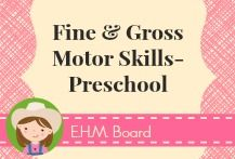 Follow along with the Fine & Gross Motor Skills-Preschool board for resources and ideas to help build strong fine motor skills in a fun and active way.