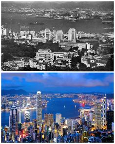 Hong Kong (The vs Today) Beijing, Shanghai, Hong Kong, Nairobi, Dubai, Australia, World Cities, Back In Time, Holiday Travel