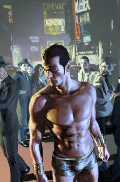 10 Times When Comics And Movies Sexualized Male Superheroes