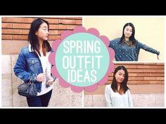 SPRING OUTFIT IDEAS!  Livia McQueen - YouTube