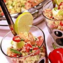 Main Dish Salad: Shrimp Couscous Salad