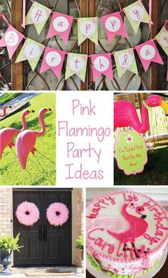 Flamingo birthday party ideas, DIY projects and more on our blog!  Flamingo party ideas