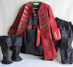 Child's Pirate Or Steampunk Costume Vest Belt by EraOfMakeBelieve