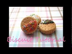 Cookie/Biscuit Polymer Clay Tutorial~ Super easy...all  need is polymer clay & household items! *Optional- TLS for topping sauces.