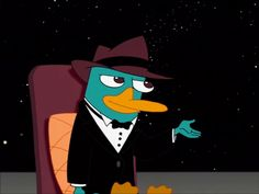 """Phineas and Ferb December Challenge Day Thirty: Favorite moment from """"Happy New Year!"""" """" a Doofenperry New Year! Watch Phineas And Ferb, Phineas And Ferb Perry, Phineas And Ferb Memes, Phineas Und Ferb, Disney Fun, Disney Movies, Disney Pixar, Perry The Platypus, Office Birthday"""