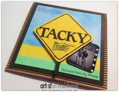 Tacky Touristst - peinliche Touristen Karte für und mit #imaginecrafts #tsukineko #stempelkatzen #artistinresidence #air #urlaub #urlaubsfoto #humor #karten #diy