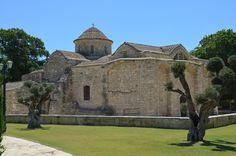 Churche of  Panayia Aggeloktisti, Cyprus