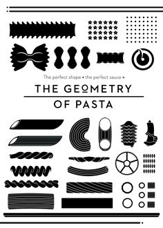 the geometry of pasta - Buscar con Google