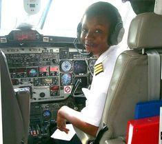 Christine Njeuma, first ever Bakweri and Cameroonian female pilot.