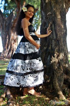 Tahiti, Polynesian Wedding, Island Wear, Muumuu, Tropical Dress, Different Dresses, Bridesmaid Dresses, Wedding Dresses, Dance Costumes