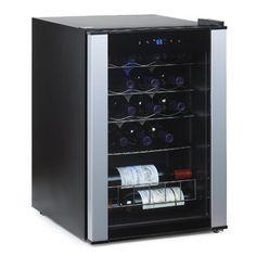 Wine Enthusiast Companies Evolution 20 Bottle Single Zone Freestanding Wine Refrigerator & Reviews | Wayfair