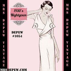 1054 new art nightgown