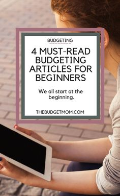 Just starting a budget can be a little overwhelming. There is so much information out there, it's hard to determine where to actually begin. I have put together a list of 4 must-read budgeting articles for beginners to get you started on the right track. Click to read about how to start budgeting from some of the best budgeters out there.
