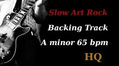 rock backing track a minor F'sBT - YouTube