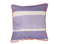 Striped Lilac Cushion Cover