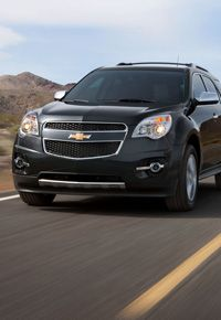The all new 2013 Chevy Equinox is going to be better than ever! The new Equinox displays new colors and options, such as the all new V6 engine option. The Equinox offers customers luxury and class with unbeatable gas mileage. Perfect for any lifestyle, whether you travel the world or drop your kids off at soccer practice around the corner, the 2013 Chevy Equinox can do it all.