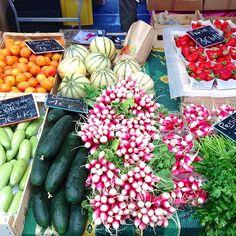 Fresh fruits & vegetables, Le Marché Forville. #CannesLions (via @michele conigliaro)