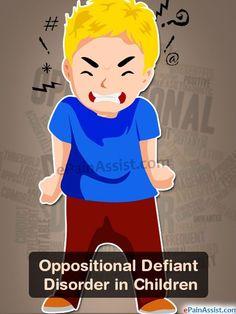 Oppositional Defiant Disorder in Children
