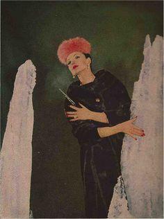 LIGHTS ON FUR   Gleb Derujinsky for Harper's Bazaar 1959