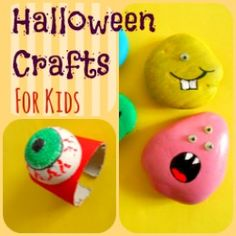 Halloween Crafts for Kids....On this page I will be sharing cute Halloween crafts for kids that we are making as well as some cool ideas I have found online and are worth sharing.