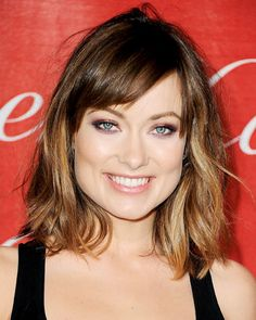 Square -For square faces, try medium or short waves or curls - even if ...